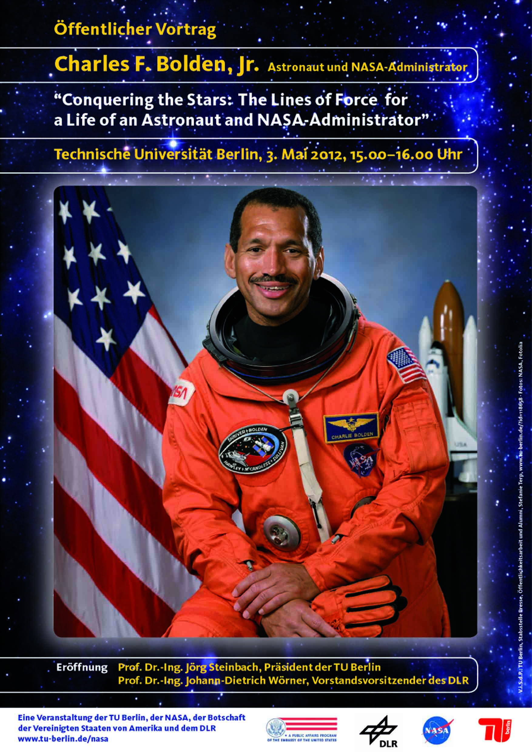 Charles Bolden Astronaut (page 3) - Pics about space