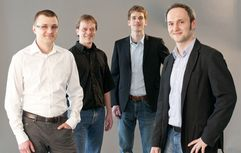"Start-up-Gründungsteam ""resonic"""