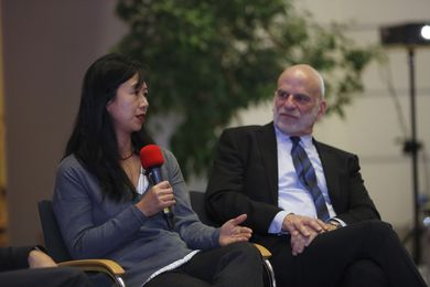 Prof. Dr. Linda Juang, Universität Potsdam und Prof. Jeffrey Peck , Vice Provost for Global Strategies & Dean of the Weissman School of Arts and Sciences, Baruch College, City University of New York